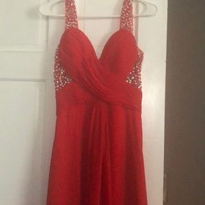 Size 6 Formal Red Dress